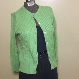 Ralph Lauren Women's Button Up Sweater